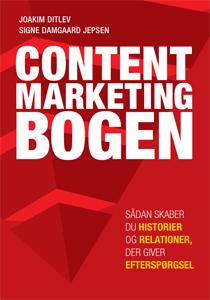 Nu kan du læse den første danske bog om content marketing